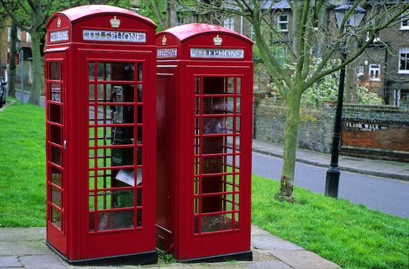 Foto Cabina Telefonica Di Londra : Londra