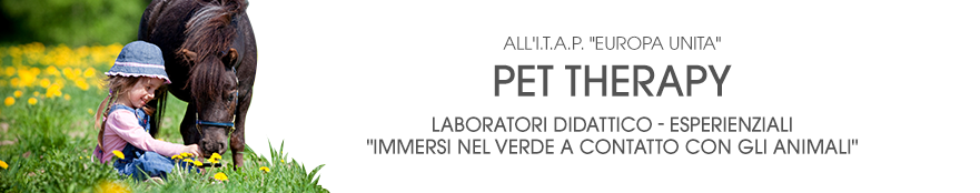 LABORATORIO PET – THERAPY